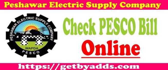 PESCO BILL Online Check