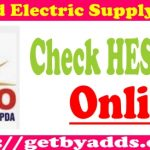HESCO Online Bill Check and WAPDA Bill Check