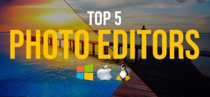 top 5 best photo editor for pc software