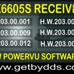 GX6605S New Software 2020 Free download