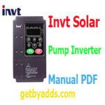 Invt Solar Pump Inverter Manual PDF