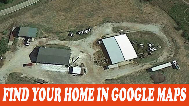 How To Find Your Home In Google Maps Easy Way