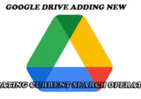 Google Drive adding new and updating current search operators