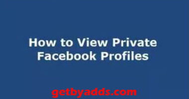 How to view a private Facebook profile copy