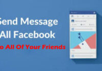 How To Send A Message On Facebook Messenger To All Of Your Friends