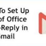 How to set up an automatic out of office message in Gmail