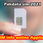Pakdata sim 2021 Best SIM info online Application